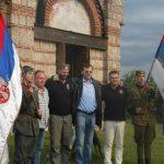 Равна Гора, истог дана, са представницима Организације српских четника ''Равна Гора'', Месни одбор Хамилтон, Канада