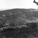 Половином септембра 1945. почело је пребацивање четника из Ћезене и Флорија у логор Еболи, крај истоименог места, 80 километара од Напуља, на југу Италије. У овом логору они ће остати до априла 1947.