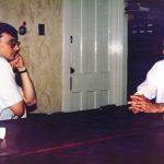 Милослав Самарџић и Чедо Ашанин, председник Српске народне одбране у Канади
