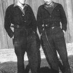 Раде Ребић и Ђуро Самарџија, у логору Остерод у Немачкој, 1948. године
