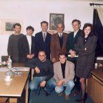Принц Томислав Карађорђевић у редакцији ''Погледа'' 1992. године