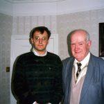 Лондон, 1992. Са капетаном Миломиром Коларевићем. Био је командант 4. јуришног корпуса и члан Врховне команде једно време - дакле, официр на највишем положају ког сам срео. Интервју са њим биће објављен у ''Разговорима...'' 3. том