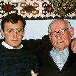 Лондон, 1992. Са мајором Николом Бојовићем, командатом 1. дурмиторске бригаде