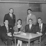 Milan Cvjeticanin, Dr. Uros Seferovich, Kosta Kralj, Mrs. Jelena Seferovich, Milan Sormaz, Professor Petar Bubreshko, Stanko Dragoslavjevich
