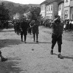 Белановица, 6. септембра 1944, исто место као на претходној фотографији (главна улица)