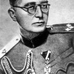 General Mihailovic as a colonel in 1937. Military Attache of the Kingdom of Yugoslavia in Prague