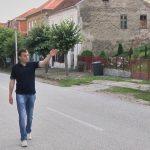 Са снимања за документарни филм ''Краљевина Југославија у Другом свтетском рату, Белановица, септембра 2014. године.