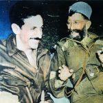 Околина Мионице, септембра 1944. Амерички капетан Ник (никола) Лалић и генерал Дража Михаиловић. И ово је оригинална фотографија у боји
