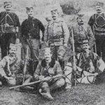 Војвода Војин Вук Поповић са својим четницима
