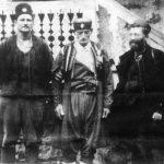 Дража у Црној Гори 1942\43. Лево је британски мајор Хадсон