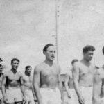 ''Шпански борци'' у логору ''Грас'' у Француској. Са ''икс'' је Александар Стојановић