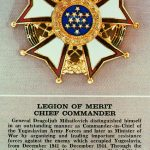 Legion of Merit Chief Commander for Dragoljub Mihailovic