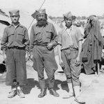 Стеван Илић ''Жућа'' са синовима Илијом и Обрадом. Стеван је био командир чете у Пађенском батаљону