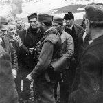 После народног збора у с. Крстаци у Драгачеву, 8. марта 1944. године