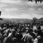 Дражин говор на прослави краљевог рођендана у порти цркве у Прањанима, 6. септембра 1944. године