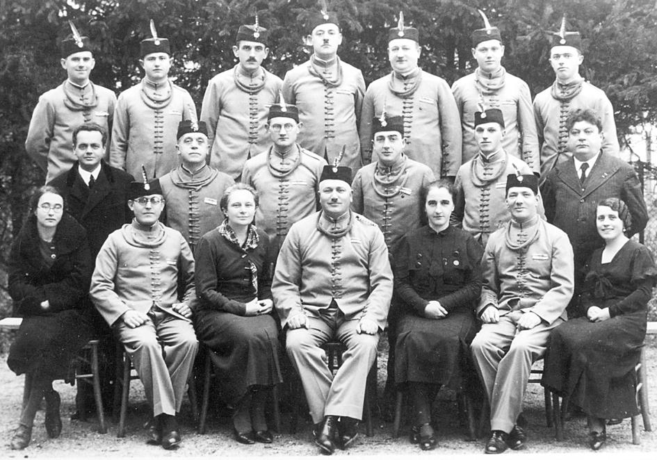 Група словеначких сокола пре рата