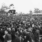 Детаљ са заклетве 2. равногорског корпуса у селу Вујетинци код Чачка, 1942. године