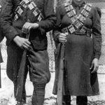 Брат и сестра Арсеније и Јела Мандић (удато Јовић) из с. Дољани у Гацкој долини, четници Личкокордунашког корпуса