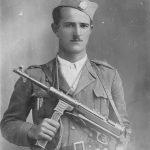 Обрен Дангубић, припадник Дољанске чете Ситничког батаљона Билећке бригаде. Живи у Билећи