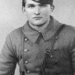 Милан Бракус, командант 1. јуришног батаљона села Залужнице 1943. године