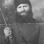 Сава Скенџић, командир Шкарачке чете у Личкокордунашком корпусу. Умро у Енглеској