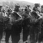 Пушкомитраљесци 3. жичке летеће бригаде 2. равногорског корпуса. Околина Краљева, 1943. године