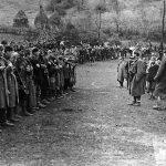 Смотра јединица 2. равногорског корпуса у с. Атеница код Чачка, 1943. године