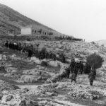 Пренос лешева после борбе, у завичај, из једног села у срезу Никшићком