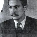 Богдан Милутиновић на предратном снимку