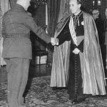 Павелић са загребачким надбискупом Алојзијем Степинцем