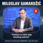 Гостовање на интернет ТВ ''Балкан инфо'' у Београду, 22. март 2018.