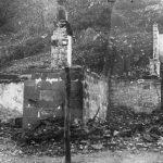 Куће које су Немци спалили на територији 1. равногорског корпуса. На удару су најпре биле куће активних равногораца