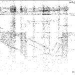 """Скица другог моста код Мокре Горе, који су четници срушили 29. септембра 1943. године. Енглеска војна мисија јавила је са лица места: """"29. септембра. Од Сербониана. Завршили уништење 4 моста за 15 сати код Мокре Горе, јавља Викс. Бр. један мост три Спојединачна лука, један троструки лук, сви обложени челиком. Два покушаја да се воз избаци из шина у тунелу неуспела, воз прескочио празнине. Тридесет шест Бугара убијено прошле ноћи, седамдесет данас. Двадесет и девет се предало на лицу места без борбе. Видите да Би-Би-Си призна ово Михаиловићевим снагама..."""" Међутим, и ове акције лондонски радио је приписао комунистима"""