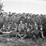 Четници Групе жичких бригада. У средини је Војин Кочовић Коча из Адрана код Краљева