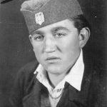 Богољуб Томић 1942. у Далмацији, као четник Дрварског четничког одреда