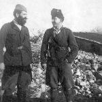 Рођаци Бранко и Божо Томић, 1. јануара 1945. на југословенско-италијанској граници