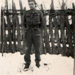 Михаило Наумовић, студент, у униформи. Погинуо је на Јаворцу 19. јула 1944 у борби против комуниста