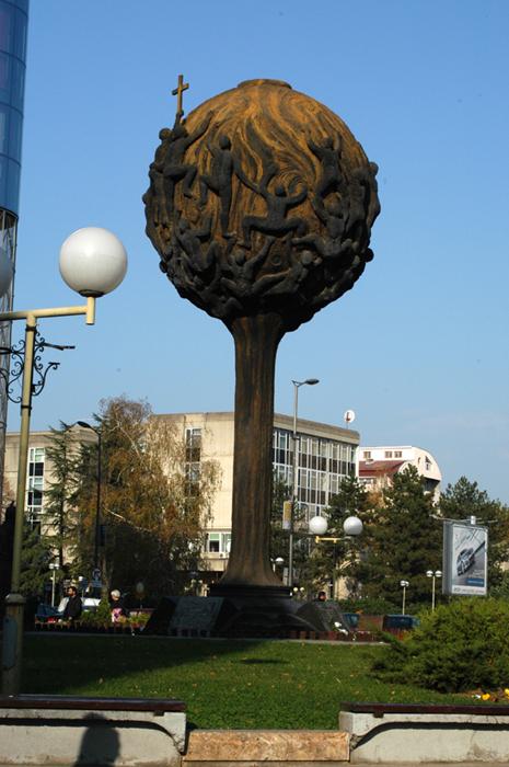 Spomenik palim Šumadincima u Kragujevcu iz 2000-tih