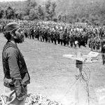 Говор капетана Предрага Раковића на прослави Видовдана 1944, у селу Лазац на Јелици