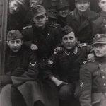 """Хрвати у једној легионарској јединици. """"Извјештај што га је др Павелић поднио њемачком посланику у Загребу 1. септембра 1943. у вријеме кад су његове квислиншке снаге биле бројчано на врхунцу, даје нам највјеродостојнију информацију о саставу тих снага. У категорији трупа под њемачком командом извјештај наводи: 62.020 војника у саставу њемачких оружаних снага; 9.000 нових регрута за те снаге; 36.300 хрватских војника које су опремили Нијемци и које су под њемачком командом, и 62.760 војника које су опремиле власти НДХ али су под њемачком командом - укупно 170.080 војника. У другој категорији, у трупама под хрватском командом, било је 92.246 официра, подофицира и војника. Зброј тих двију категорија износи укупно 262.326 људи. Од тог зброја 28.500 људи или 11 посто били су у усташкој војници и у Павелићевој особној гарди. Највећа појединачна формација, од отприлике 92.000 људи под хрватском командом, била је жандармерија с око 18.000 људи."""" Јозо Томашевић, Четници, према Mikrofilm br. T-77 rok 883, snimci 5, 631. 890-92.  Још око 6.000 Хрвата служило је у италијанској војсци. Према томе, број војноспособних мушкараца које су Хрвати дали у службу нацизма је нешто већи од 266.000 људи."""