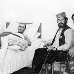 Major Rakovic and wounded 1944