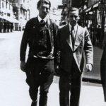 Чланови Демократске омладине, Миодраг Јанићијевић (убијен 1944.) и Добривоје Протић