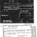 """Заповест немачког пуковника Фелбера од 4. септембра 1943. о стрељању """"ДМ"""" талаца """"за одмазду због напада на немачку царинску патролу"""" код Бајине Баште, """"којом приликом је један цариник тешко рањен"""". """"ДМ"""" су иницијали Драже Михаиловића. Документ је пронашао и превео Милош Аћин Коста, иторичар из Вашингтона."""