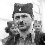 Капетан Властимир Власта Антонијевић, командант 3. жичке летеће бригаде. Из села Врба код Краљева, Немци су стрељали Властимировог оца 1943. године, док су комунисти стрељали Властимира, као ратног заробљеника, фебруара 1945. године, у Чачку, крај Мораве