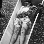 Италијански војник кога су партизани заробили и одсекли му полни орган
