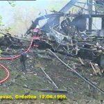 Погођен воз у Грделичкој клисури, 12 април 1999.