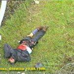Жртва из погођеног воза у Грделичкој клисури, 12 април 1999.