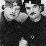 Милан Косановић и Васо Маријан