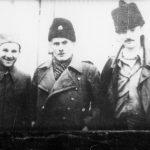 Војвода Мане Роквић, кепатан II класе, војвода Ђуро Плећаш (носилац Карађорђеве звезде са Солунског фронта, погинуо у борби против комуниста на Уништима) и војвода Брана Богуновић, помоћник војводе Ђујића