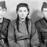 Никола Кангрга, Милка Кангрга (Николина сестра) и Стево Кангрга (живи у Канади)